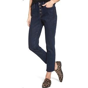 TREASURE & BOND | Bond High Rise Skinny Crop Jeans